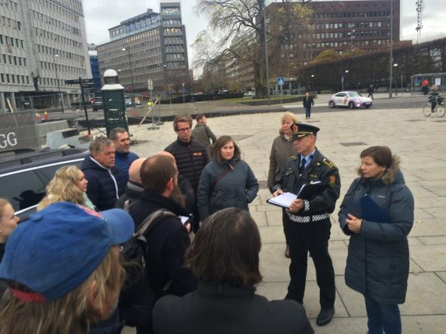 Rune Instebø fra Politiet har planene klare for hva som er mulig og ikke.